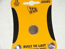 JCB Lithium Coin Battery--CR2025  ( 3v)  x1
