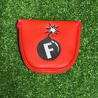 """""""F-Bomb"""" Mallet Putter Cover"""