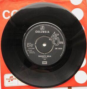 "LOL Naughty Lola ORIGINAL 1973 UK Columbia 7"" Single DB 9009 Lawrence Creme EX"