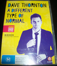 Dave Thornton A Different Type Of Normanl (Australia Region 4) Comedy DVD - NEW