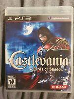 Castlevania: Lords of Shadow (Sony PlayStation 3, 2010) cib