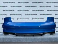 AUDI S3 SALOON CABRIO ONLY 2016-2019 REAR BUMPER WITH DIFUSER GENUINE [A185]