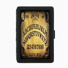 Ouija D5 Black Cigarette Case / Metal Wallet Occult Witchcraft Spirits