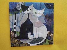 10 Servietten Katzen Wedding Heiraten Rosina Wachtmeister Kunst Hochzeit blau