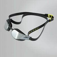 Speedo Fastskin Elite Swimming Goggles Mirror Black Smoke
