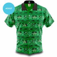 Melbourne Stars Big Bash BBL Cricket 2020 Adult Hawaiian Shirt Polo Sizes S-5XL
