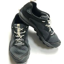 Merrell Unifly Womens Shoes Black Gray Performance  Lace Up Grip Sneaker Size 5