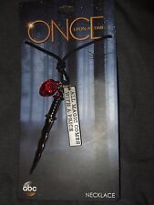 Nwt Disney ABC Once Upon A Time Rumplestiltskin Rumple Dagger Pendant Necklace