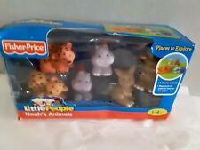 Noahs animals Fisher Price Little People  NEW IN BOX