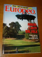 EUROPEO 1991/37=PAUL MOLLER SKYCAR=LIBERO GRASSI=GIULIO FERRONI=AFELTRA GAETANO