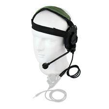 Z Tactical Bowman Elite II Headset Airsoft Mic Radio Boom HD-03 Army Green as