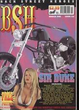 BSH THE EUROPEAN CUSTOM BIKE MAGAZINE - March 2002