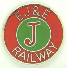 Railroad Hat-Lapel Pin/Tac- Elgin Joliet & Eastern (EJ&E) #1643 -NEW