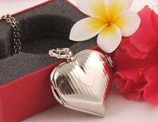 Silver Plated Love & Hearts Fashion Lockets