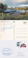 NAVE DA CROCIERA tedesca MS amisia una copertura Navi inseriti nella CACHE & CACHE Cartolina A Colori