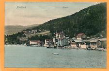 Faleide Nordfjord Norway 1906 Postcard