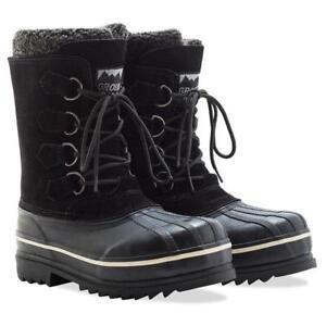 Ground Force Rutland Black Boots UK 8 EU 42 JS182 EE 06