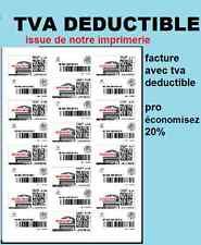 1,200 Etiquettes à imprimer pour timbre Mon timbre en ligne 63,5 x 33,9 mm