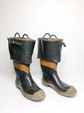Vintage Uniroyal Siren Fireman Boots Steel Toe CHFD Size   13?
