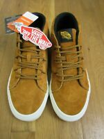 Vans Mens Sk8-Mid Reissue MTE All Weather Sudan Brown Skate shoes Size 7.5 NWT