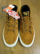 3dd21590a5 Vans Mens Sk8-Mid Reissue MTE All Weather Sudan Brown Skate shoes Size 11  NWT