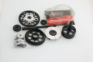 GTB Metal 2 Dual speed system with Plastic Gear Cover Set for HPI Baja 5B SS 5SC