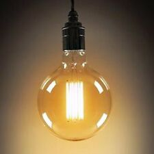 3X 60W E27 G95 Filament Vintage Antique Edison Light Bulbs dimmable Amber