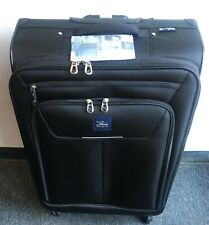 2eb474c92 Skyway Zero Gravity 28 In Soft Side Expandable Spinner Upright Luggage Bag  Black