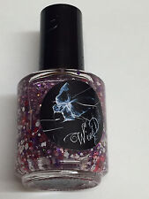 WING DUST LACQUER LOVE LOVE ME DO VALENTINE HEART GLITTER NAIL POLISH INDIE