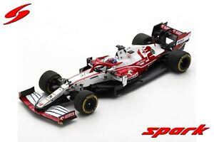 Alfa Romeo F1 C41 1:43 - Kimi Raikkonen - Bahrain GP 2021 - Spark