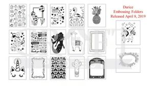 CLEARANCE ITEMS Darice Embossing Folder Designs