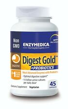 Enzymedica - Digest Gold + Probiotics : Enzymes With Probiotics 45 Capsules