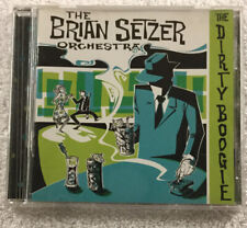 The Brian Setzer Orchestra - The Dirty Boogie (Music CD, Jun-1998)