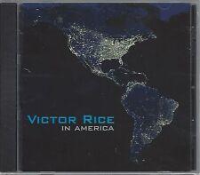 VICTOR RICE - IN AMERICA - (brand new still sealed cd ) - MEGA 004