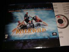 "THE RIVER WILD<>MERYL STREEP AND KEVIN BACON<>12"" Laserdisc<>MCA 42241 (1994)"