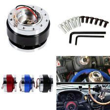 Universal Car Steering Wheel Quick Release Hub Racing Adapter Snap Off Boss Kits