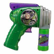 Disney Parks Buzz Lightyear Star Command Bubble Blower Gun Blaster Toy Story New