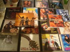 80's 90's ORIGINAL SOUNDTRACKS Lot of 17 CD's