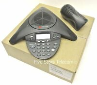 Polycom Soundstation 2 Display Conference Phone 2200-16000-001 Certified Refurb