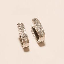 .925 Sterling Silver All purpose Huggie Earrings Wedding Jewelry women jewelry