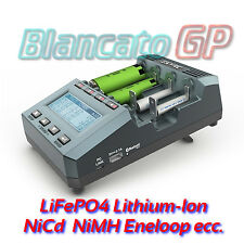 CARICABATTERIE UNIVERSALE SKYRC MC3000 Lion LiFePO4 NiMH Nicd 18650 26650 Lithiu