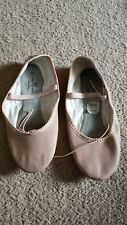 Women's American Ballet Theater Pink Ballet Dance Slippers Shoes Size 7.5