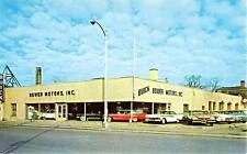 Photo. 1958-9. La Grange, Illinois. Bower Motors Inc., Buick Auto Dealership
