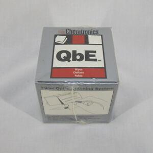 "Chemtronics Qbe Fiber Optic Cleaning Wipes 200 3""x3"" wipes"