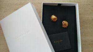 Alighieri The Floating Questions asymmetrical seashells earrings 24k gold NEW