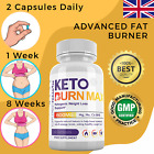 KETO BURN MAX Ketogenic Weight Loss Support (60Caps) 1 Month Supply