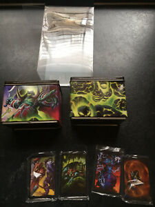 World Of Warcraft Card Game Collectible Tin Mint With Dividers