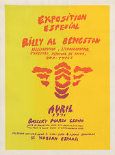 "Billy Al Bengston ""Exposition Especial"" Avril 1971. Los Angeles: Margo Leavin."