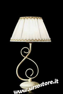 Bedside Lamp Wrought Iron Lumetto Classic