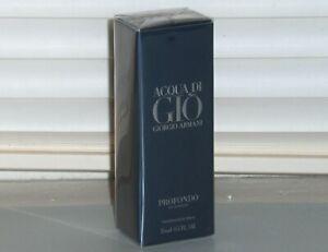 ACQUA DI GIO PROFONDO Giorgio Armani Men's eau de Parfum Travel Spray .5 oz 15ml